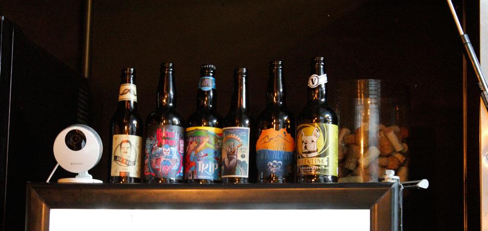 Cervejas artesanais do Seu Vidal