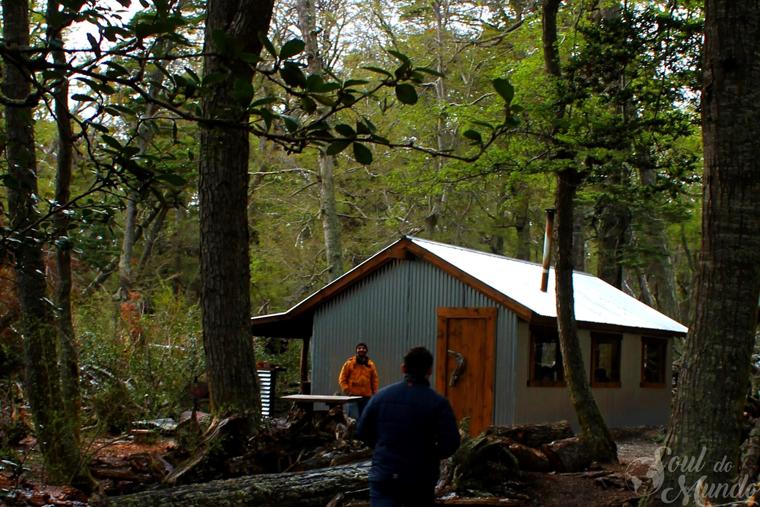 Cabana para almoço