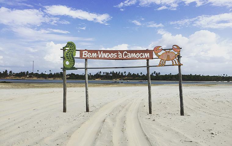 Entrada do município de Camocim