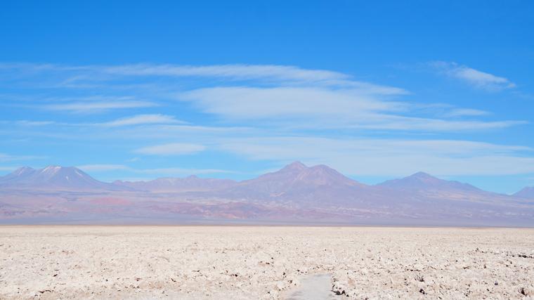 Vista do Salar do Atacama