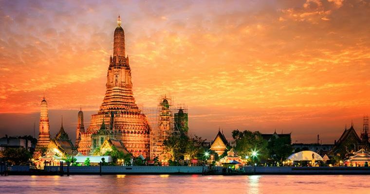 Wat Arun, o Templo do Amanhecer