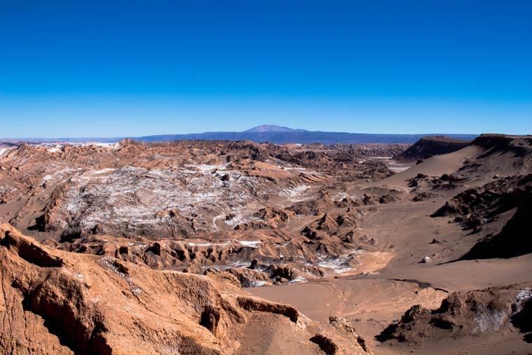 Vista do Valle de La Muerte