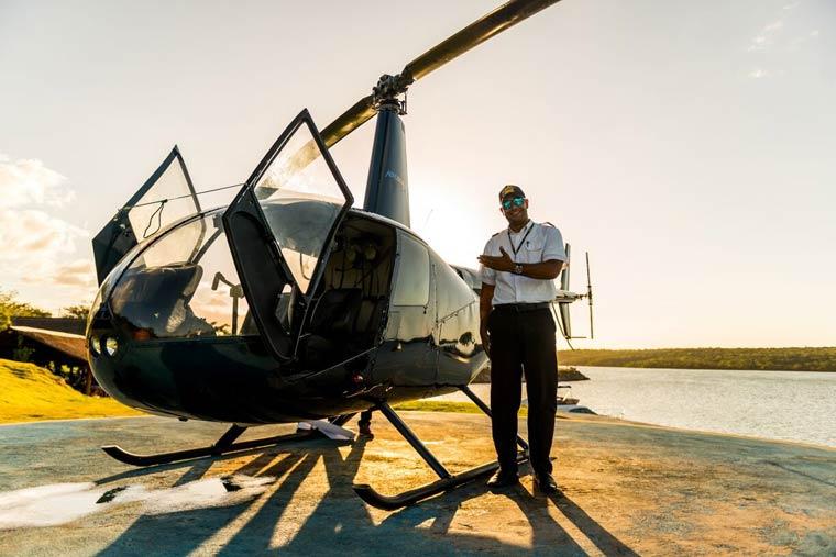O comandante Eduardo Pessoa, Foto: @viajareumprazer