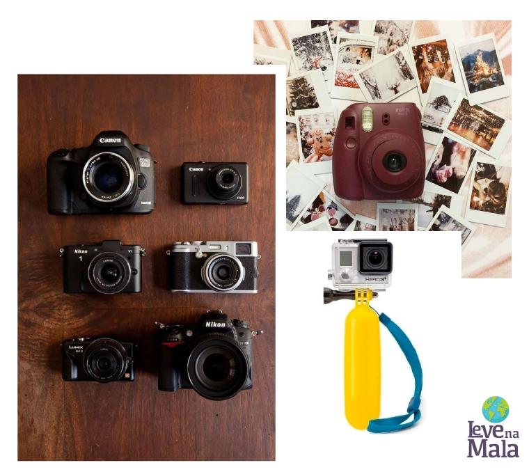 Câmeras fotográficas ou acessórios