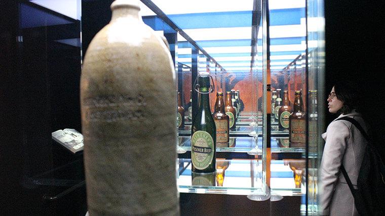 A evolução das garrafas.