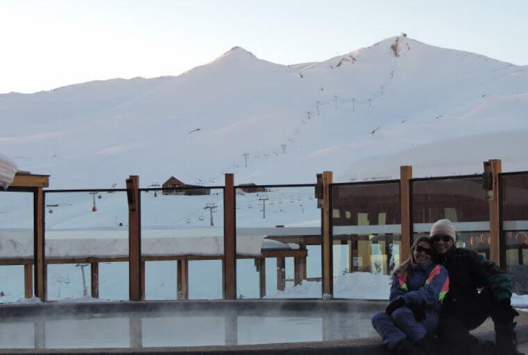 Mesmo que você não pratique o esqui, vá até Valle Nevado para conhecer o Resort que é bem bonito.