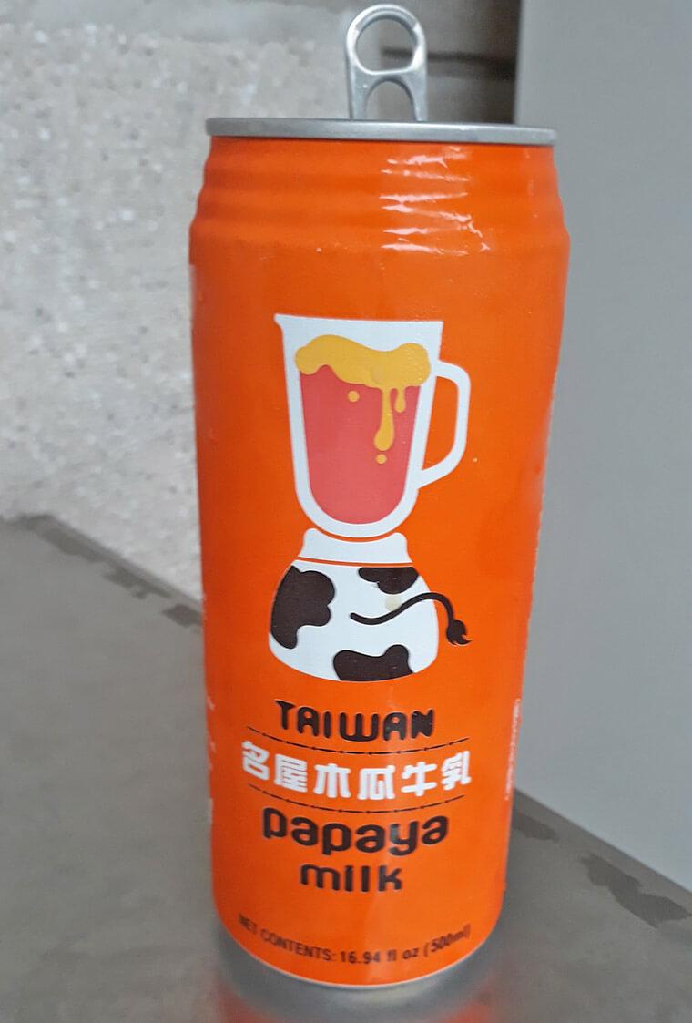 Leite de mamão (Papaya milk)