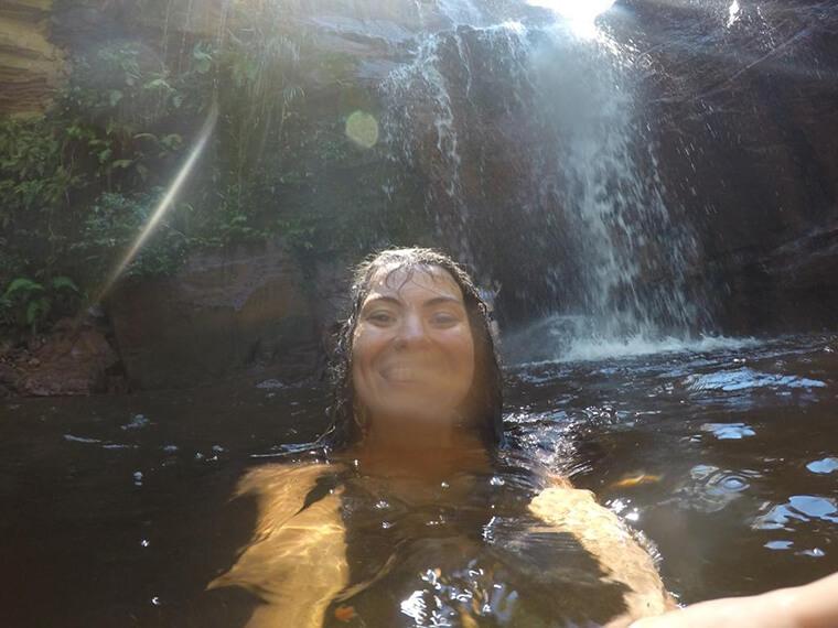 Cachoeira do Lajeado.